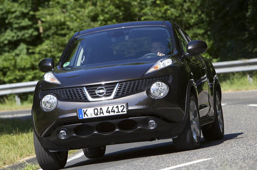 Nissan Juke production starts