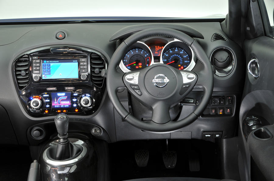 nissan juke interior autocar. Black Bedroom Furniture Sets. Home Design Ideas
