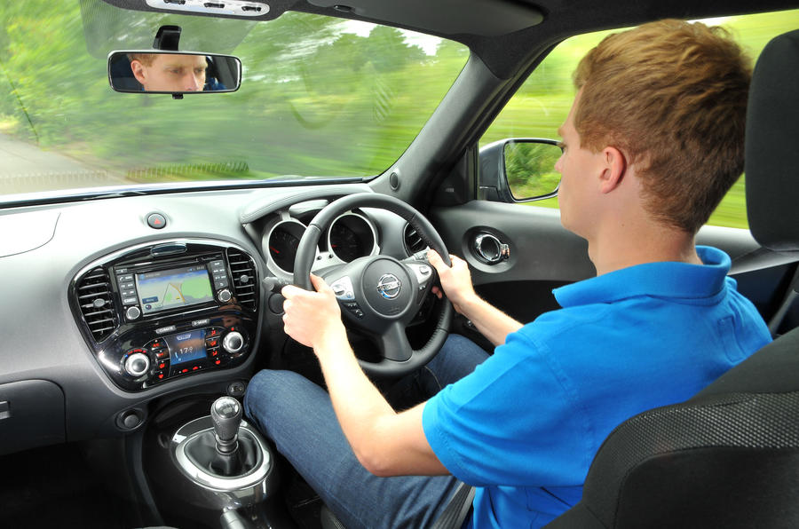 Driving the Nissan Juke