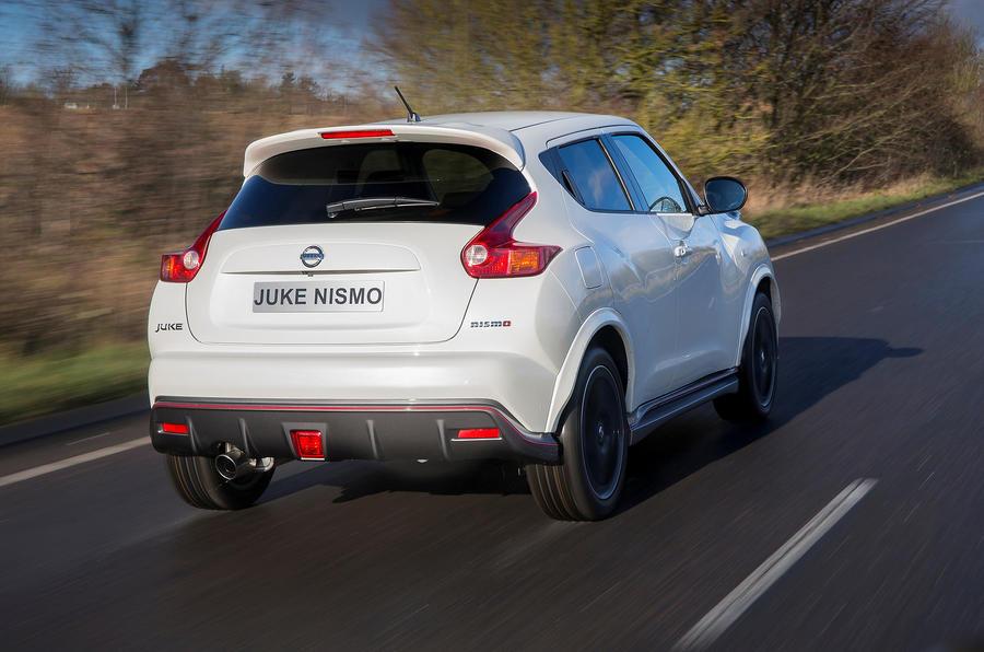 Nissan Juke Nismo rear