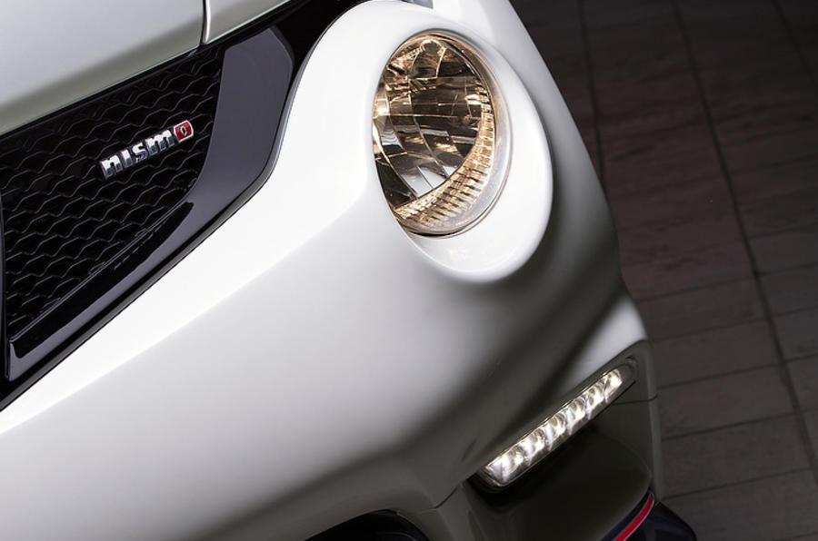 Nissan Juke Nismo front splitter