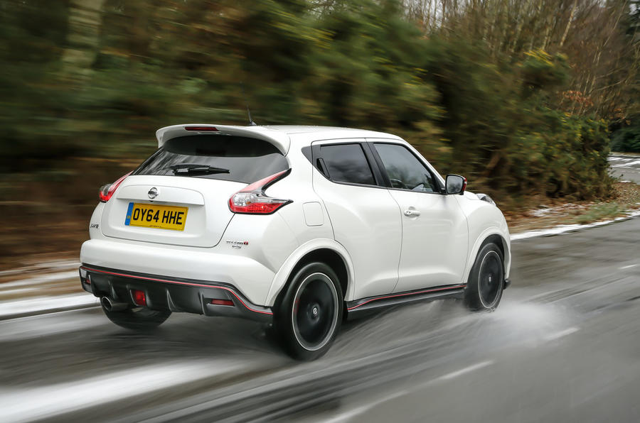 The Nissan Juke Nismo RS accounts for 3% of Jukes built in Europe