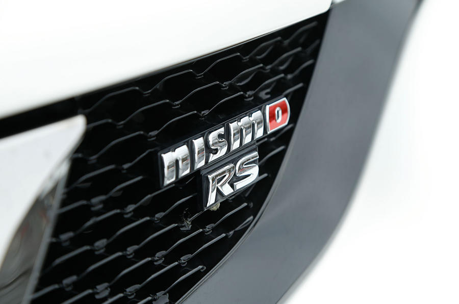 The Nissan Juke Nismo RS gets a the new grille