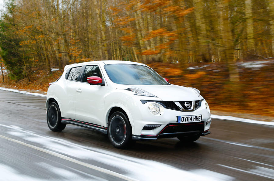 The Nissan Juke Nismo RS