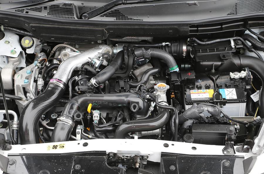 1.6-litre Nissan Juke Nismo engine
