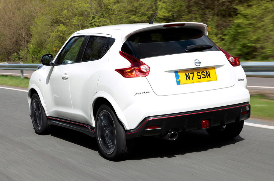 Nissan Juke Nismo rear quarter