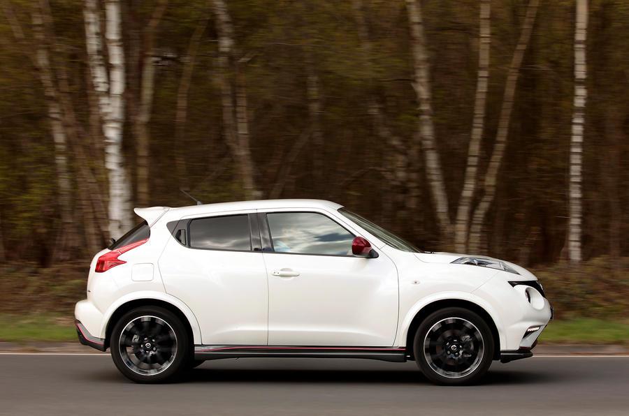 Nissan Juke Nismo side profile