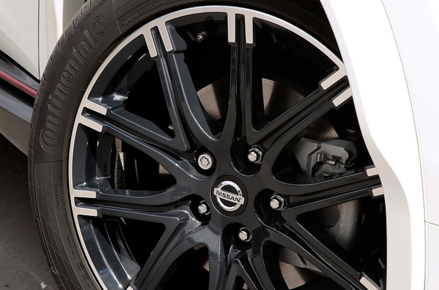 Nissan Juke Nismo alloy wheels