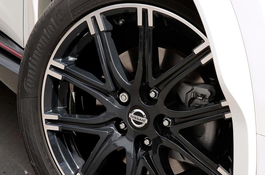 Nissan Juke Nismo alloy wheels