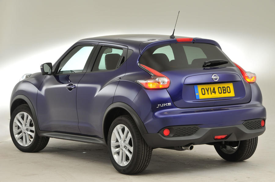 Nissan Juke rear quarter
