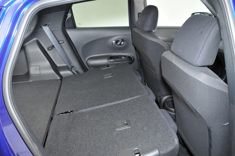 Nissan Juke seating flexibility