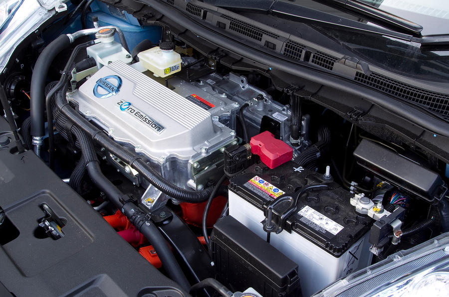 Nissan Leaf electric engine