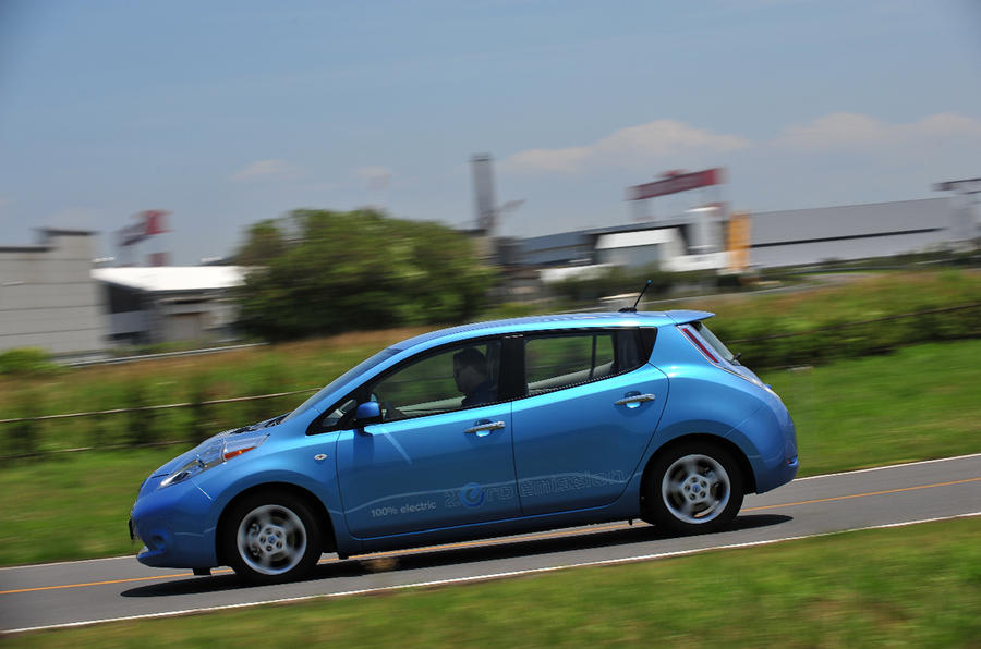 Nissan Leaf on sale 1 September