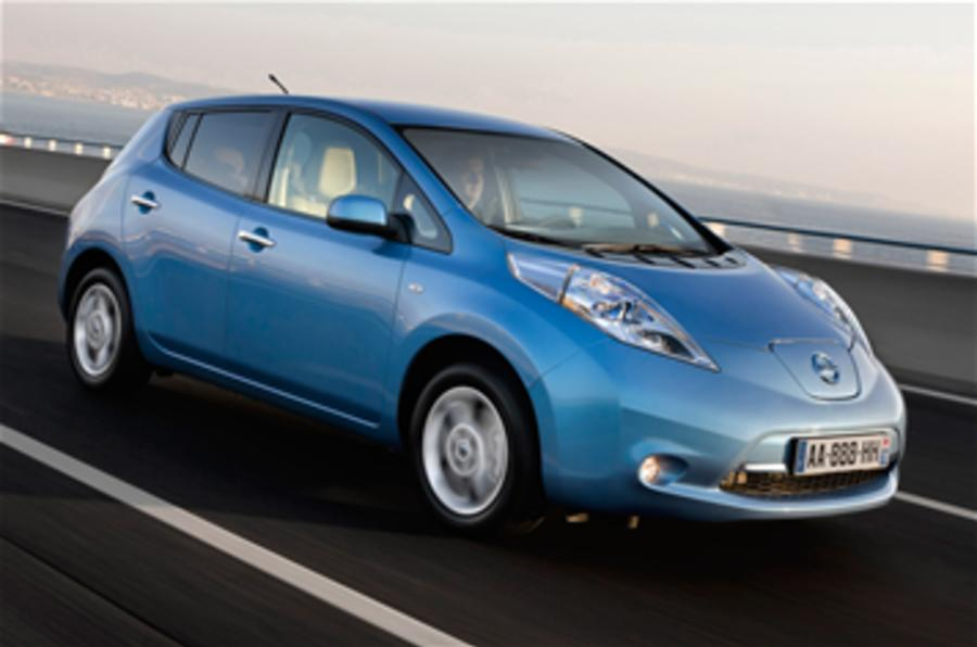 Nissan to sell 1.5m EVs by 2016