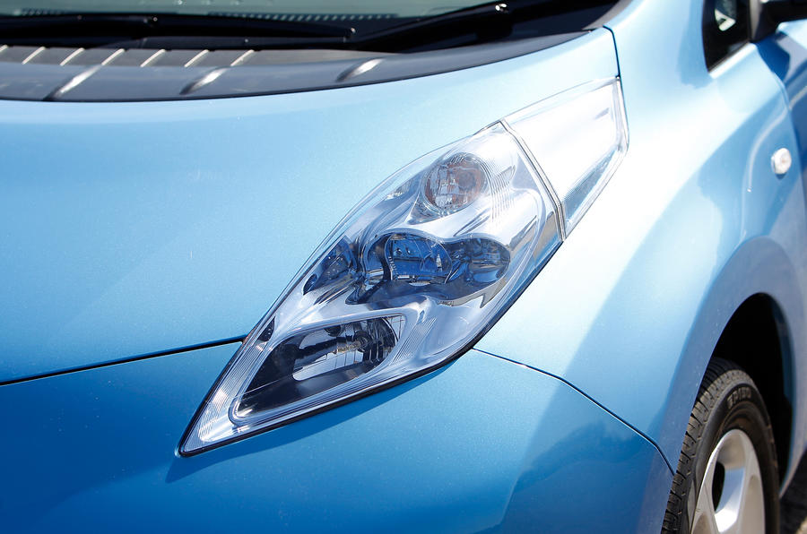 Nissan Leaf LED cluster