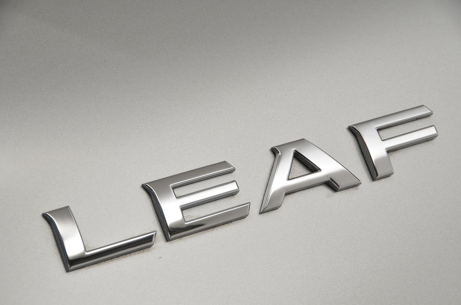 Nissan Leaf badging