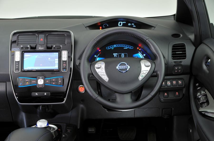 ... Nissan Leaf Interior; Nissan Leaf Dashboard ... Gallery