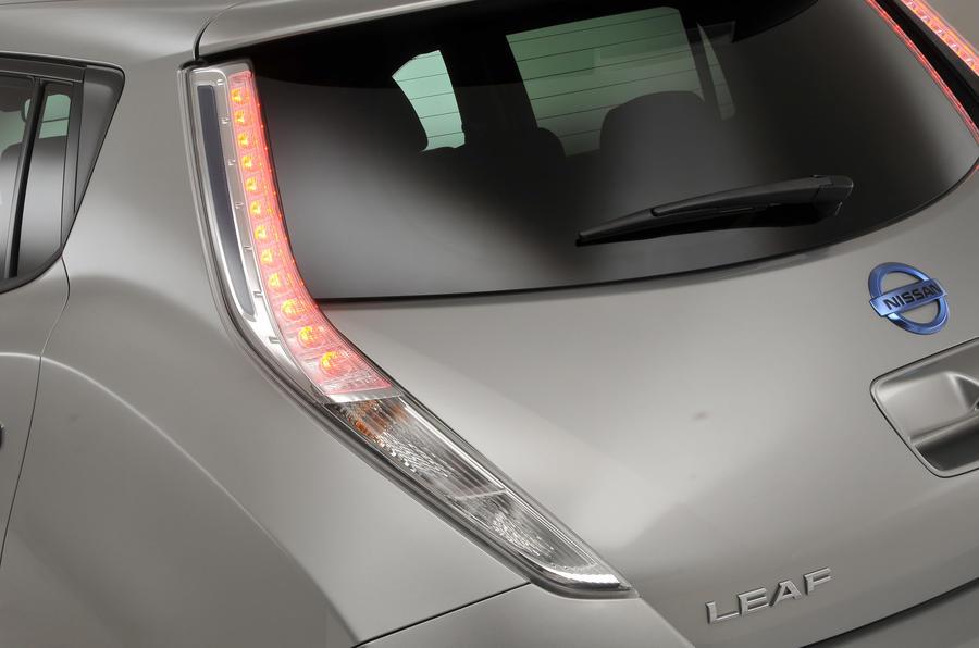Nissan Leaf rear lights
