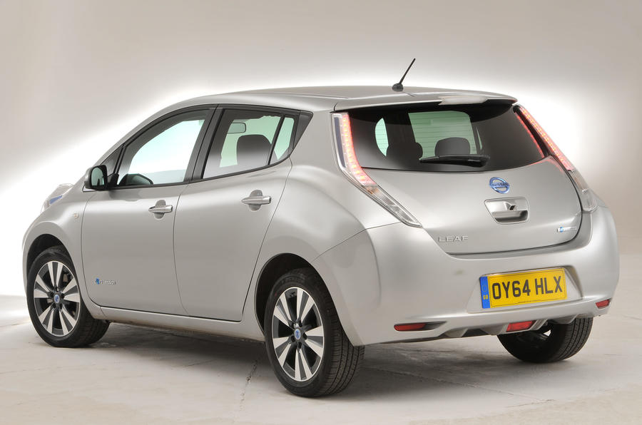 Nissan Leaf rear quarter