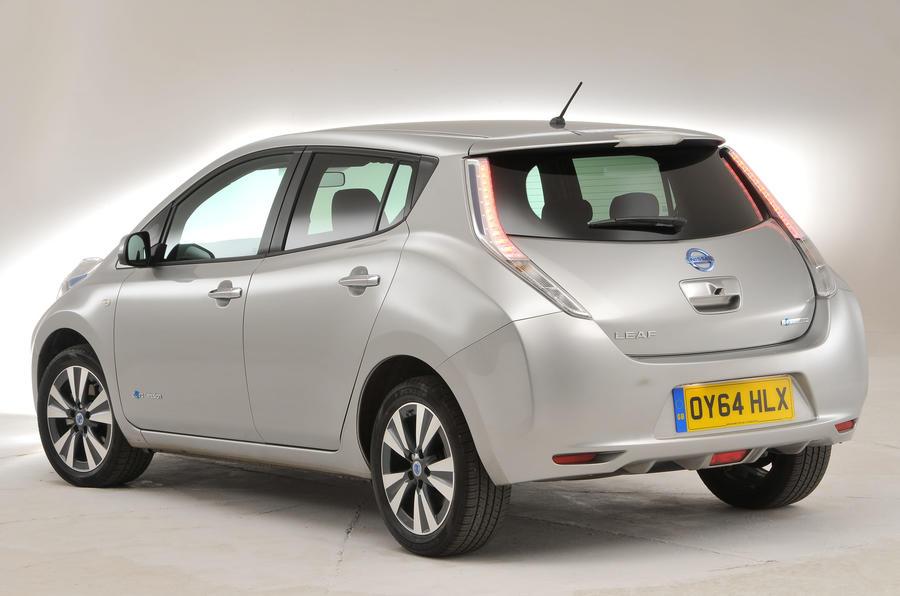 Nissan Leaf rear quarter