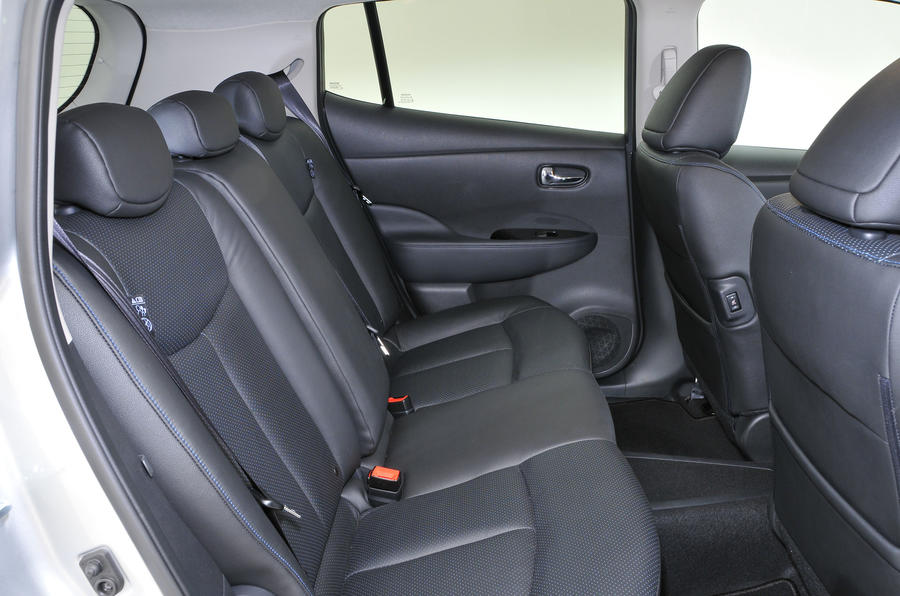 Nissan Leaf rear seats