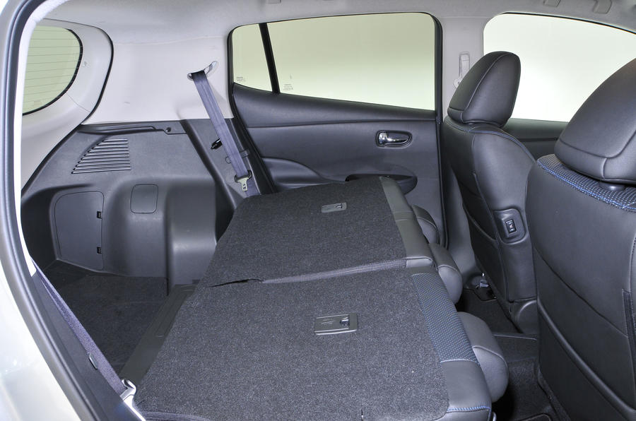 Nissan Leaf seating flexibility