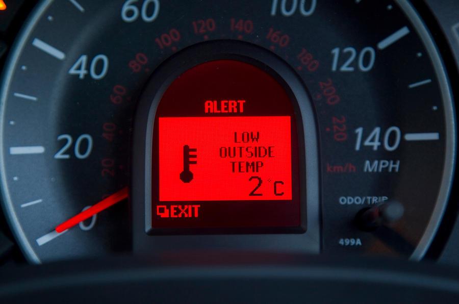 Nissan Micra fuel gauge