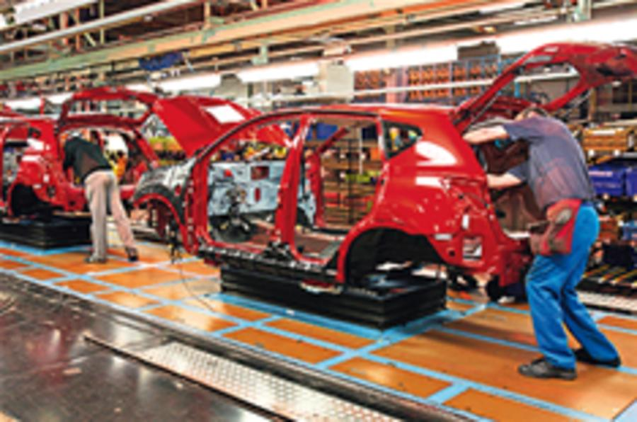 Nissan boosts production