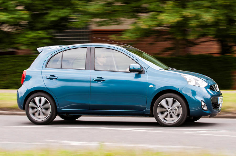 Nissan Micra side profile