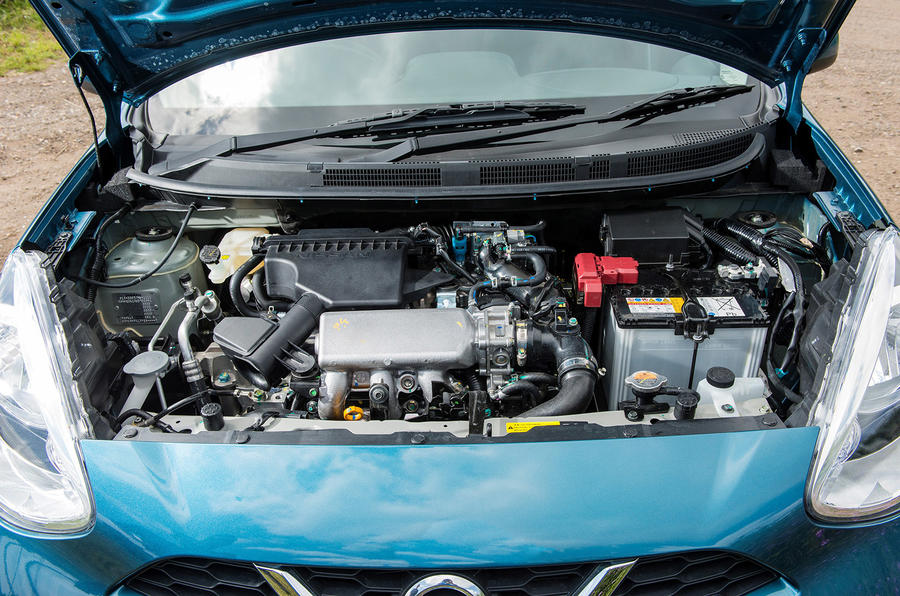 Nissan Micra three-cylinder engine