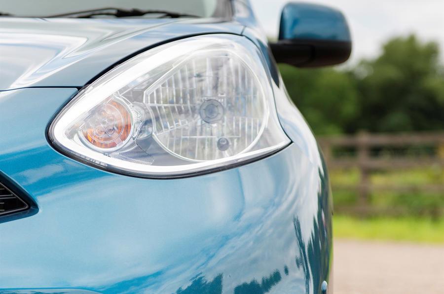 Nissan Micra headlight