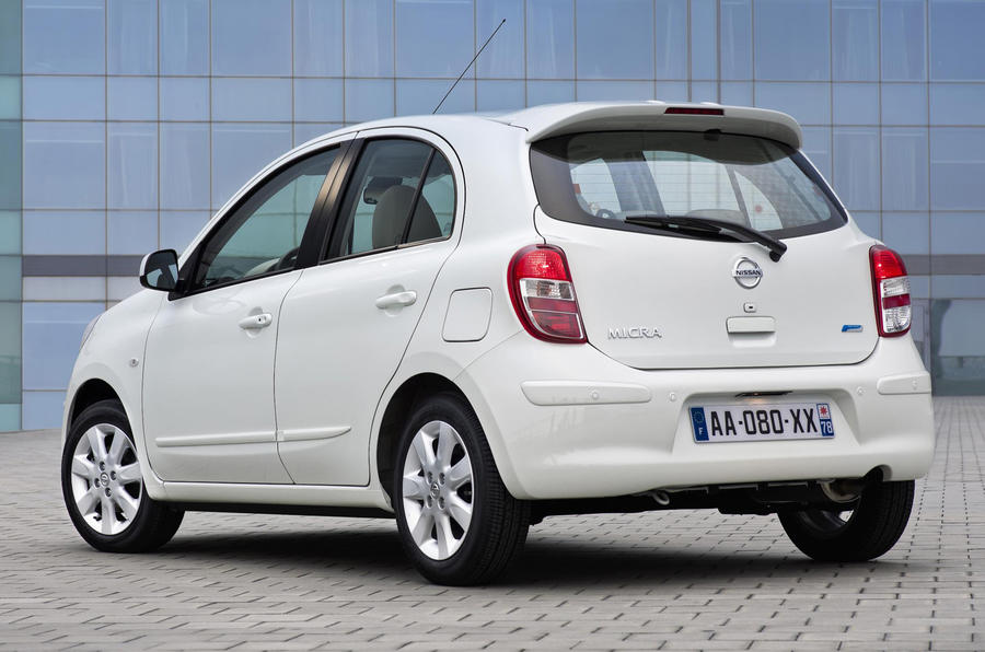 Nissan's supercharged Micra