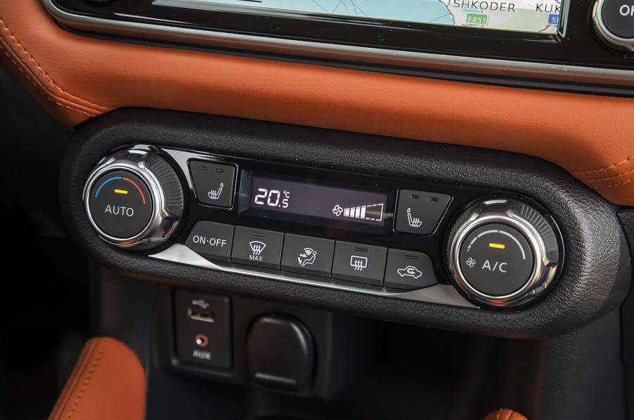 Nissan Micra climate control