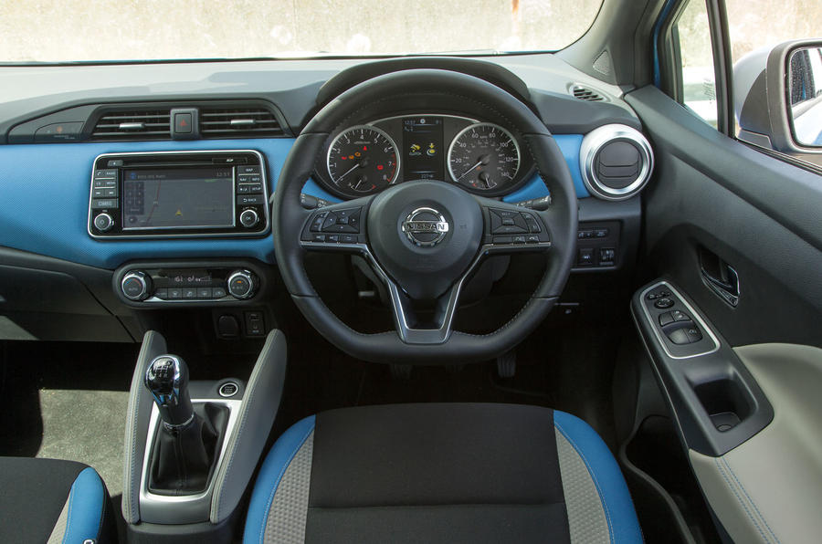 nissan micra review 2017 autocar. Black Bedroom Furniture Sets. Home Design Ideas