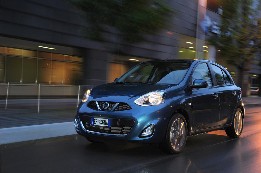 Facelifted Nissan Micra revealed