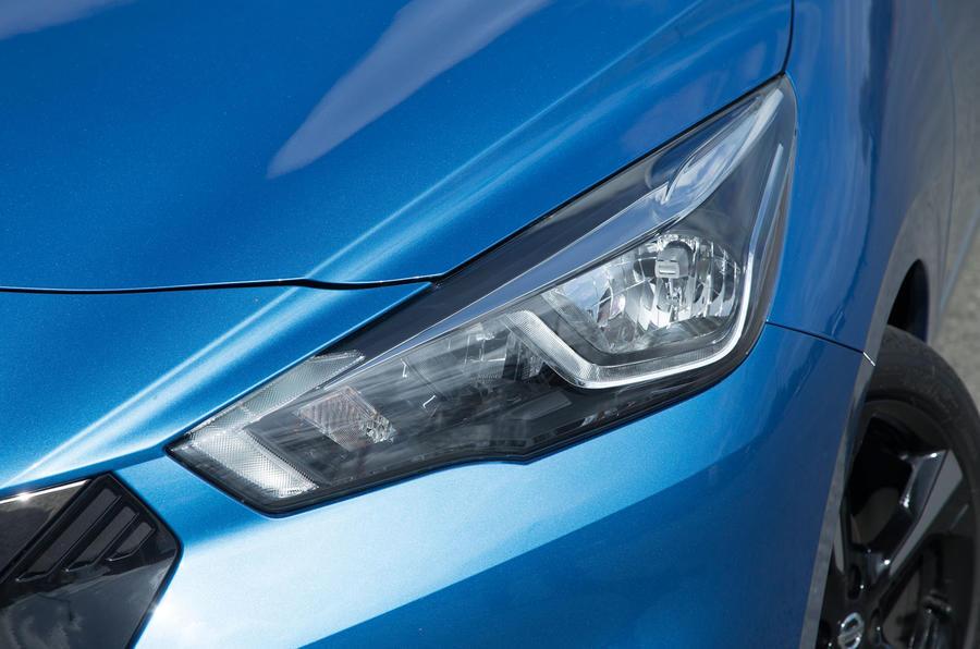 Nissan Micra headlights