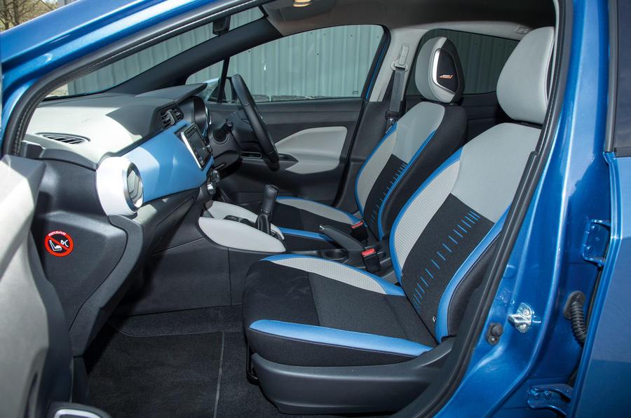 Nissan Micra interior | Autocar