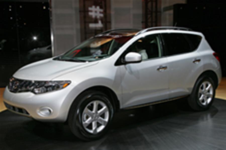LA show: new Nissan Murano bows