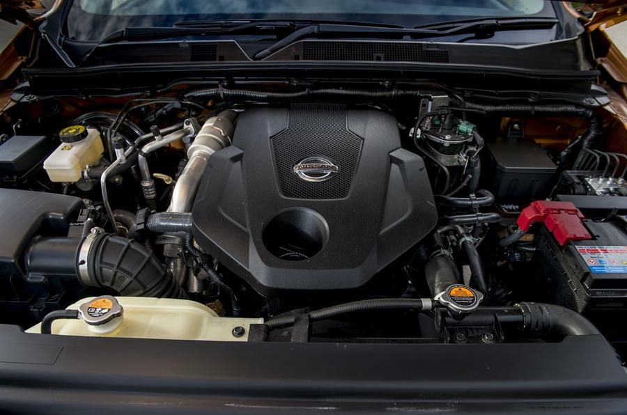 2.3-litre Nissan Navara NP300 diesel engine