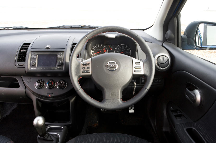Nissan Note dashboard