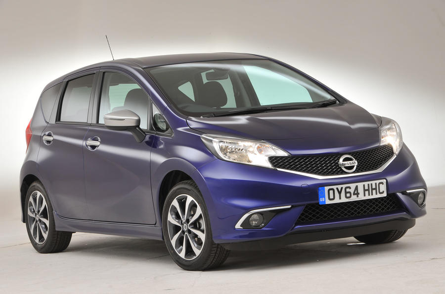 4 star Nissan Note