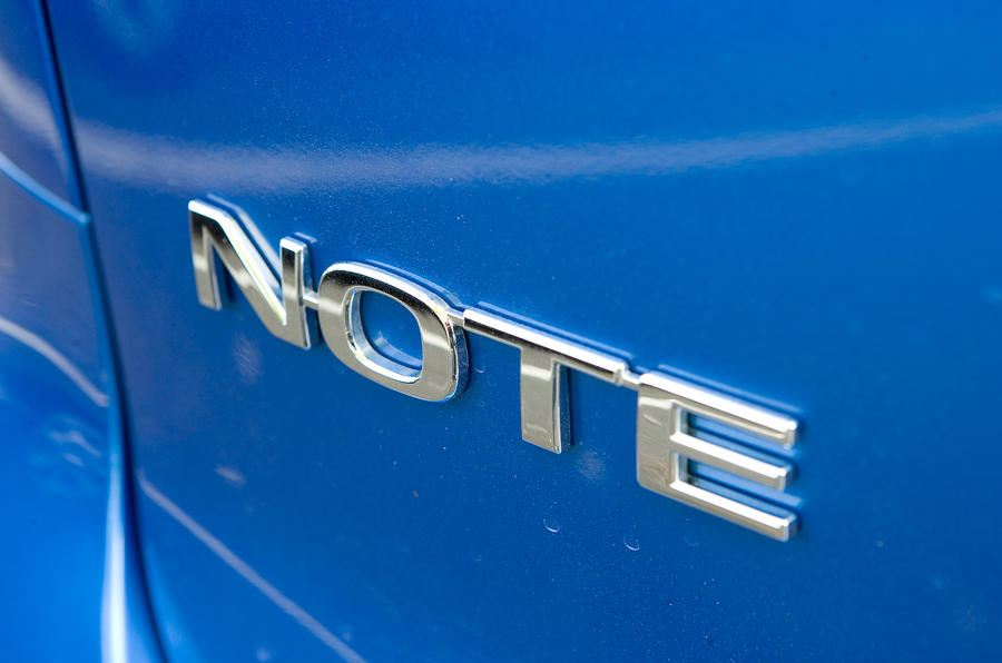 Nissan Note badging