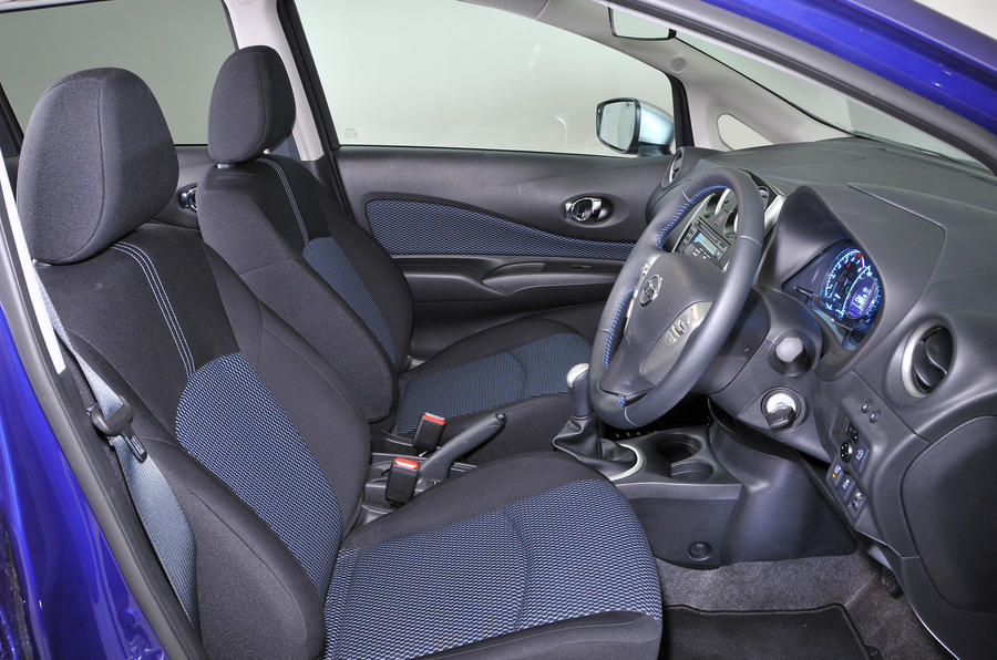 Nissan Note interior