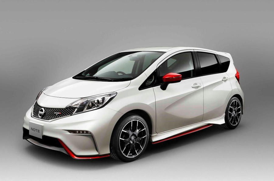 Nissan reveals new high-performance Note Nismo
