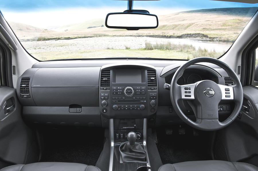 Nissan Pathfinder dashboard