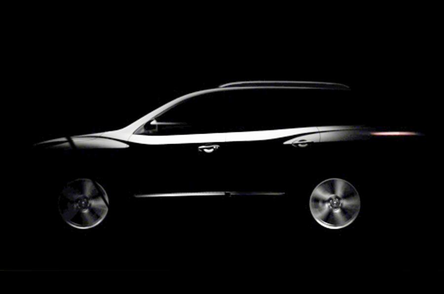 Nissan previews next Pathfinder