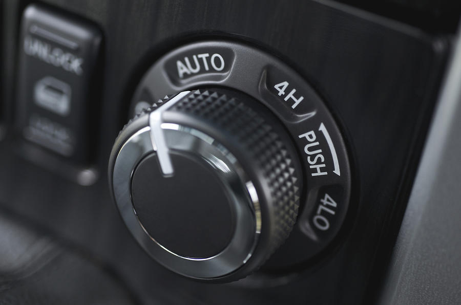 Nissan Pathfinder four-wheel drive system