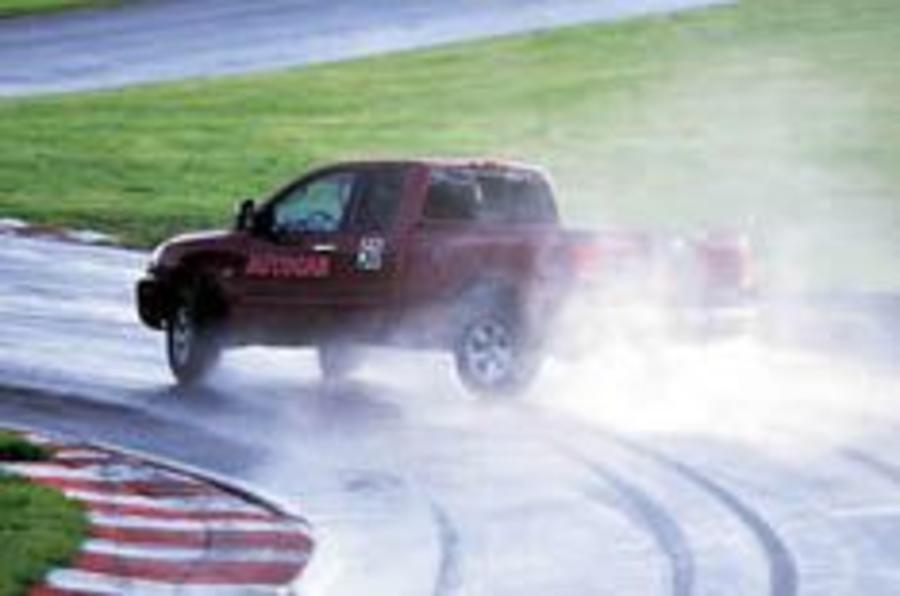Autocar's Sideways Challenge slides in