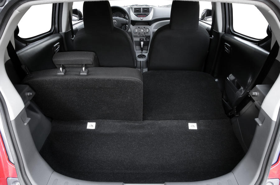 Nissan Pixo boot space