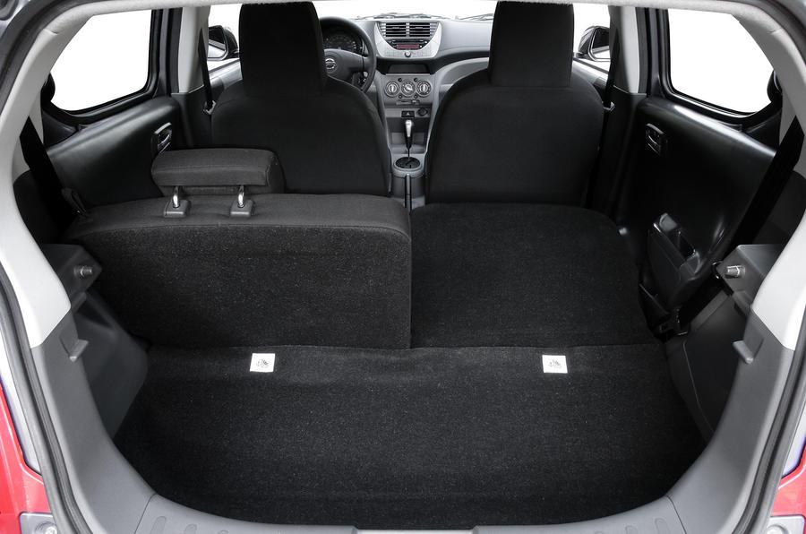 Nissan Pixo boot space